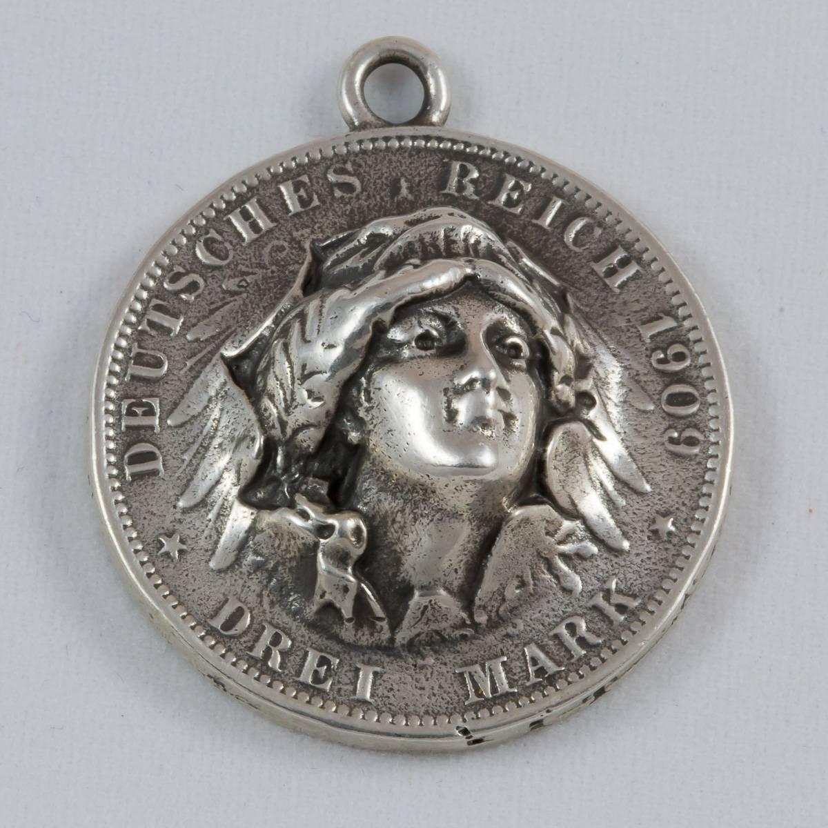 Münze/Kopf
