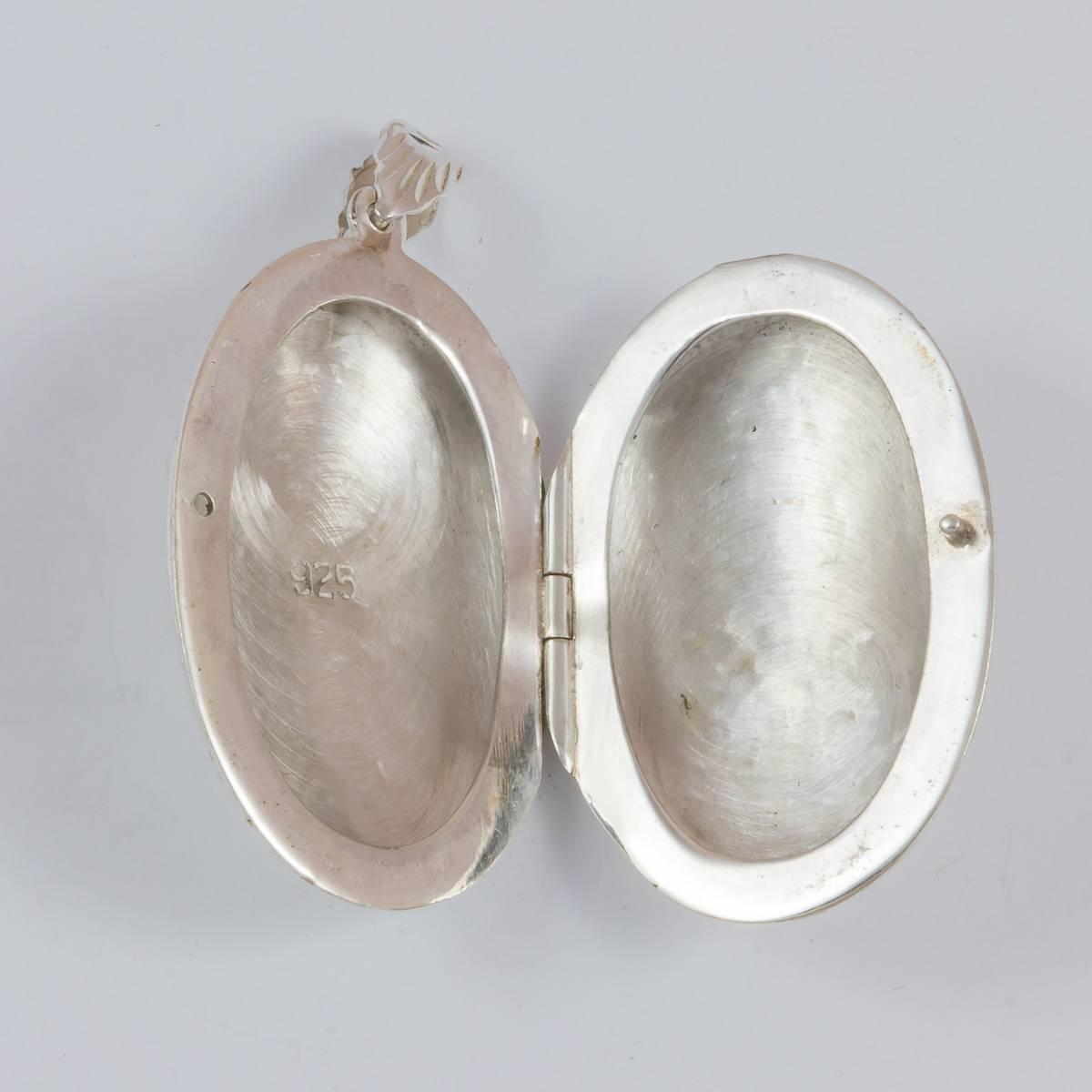 Medaillon oval, 35 mm