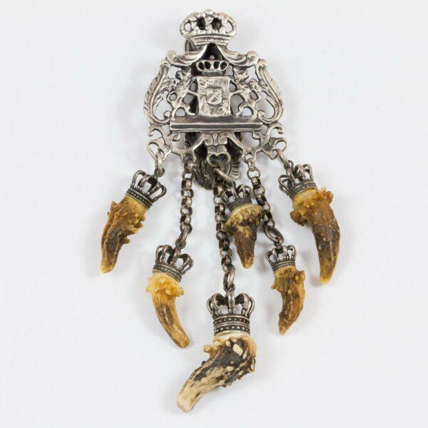 Wappen-Rockstecker mit 6 Knopfern