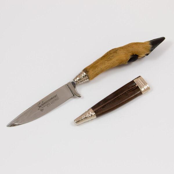 Lederhosen-Messer Rehuf-Griff